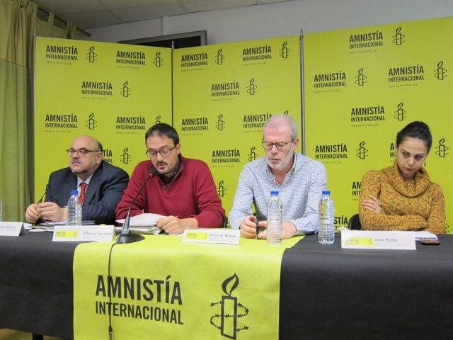 Presentación del informe anual de Amnistía Internacional