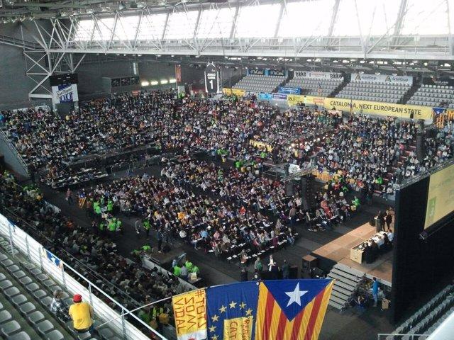 Acto de la ANC en Lleida