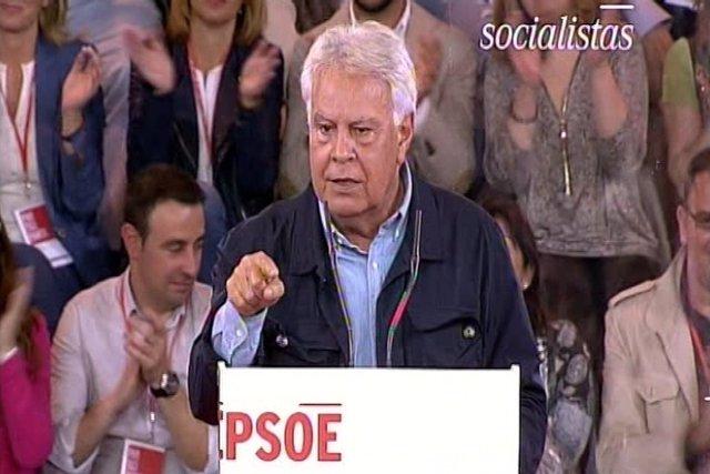 """Felipe González da """"todo"""" su apoyo a Sánchez"""