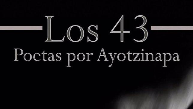Portada del libro 'Los 43 potas por Ayotzinap'