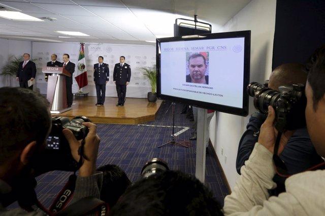 Cesar Gastelum, detenido en Cancún