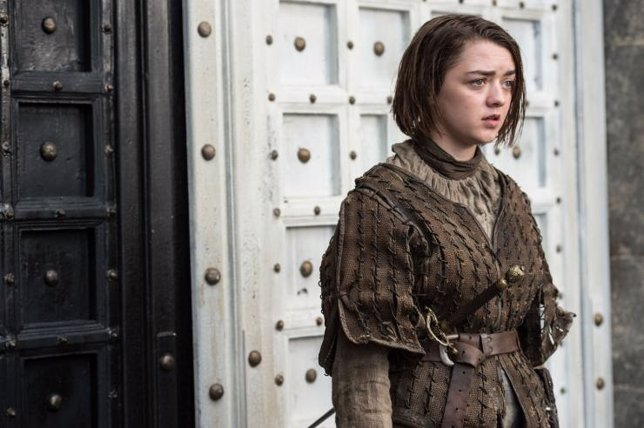 Maisie Williams (Arya) - Juego de tronos, temporada 5