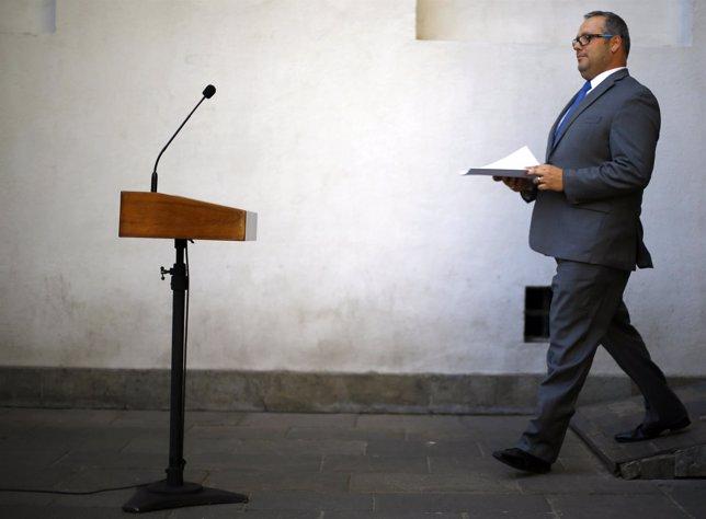 Sebastián Dávalos, hijo de Michelle Bachelet