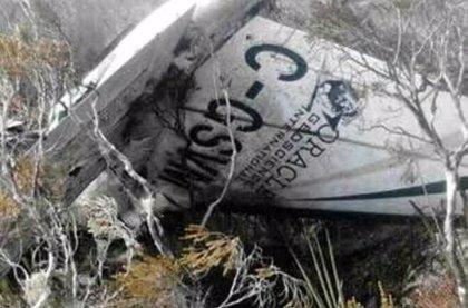 Tres muertos al estrellarse dos avionetas en Colombia
