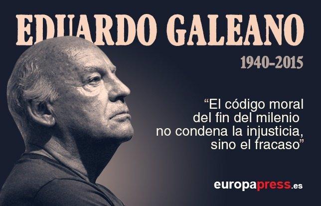 Infografía de las 10 frases de Eduardo Galeano