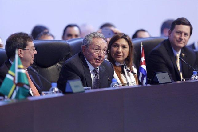 Raúl Castro en la Cumbre de las Américas