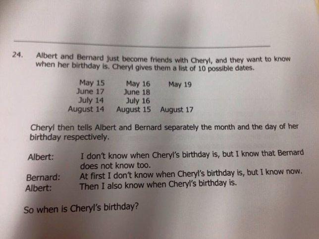 Un test de lógica para niños de 14 años de Singapur está triunfando en el mundo