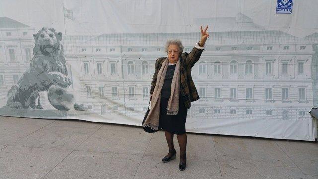 Ana María Pérez del Campo en el Congreso