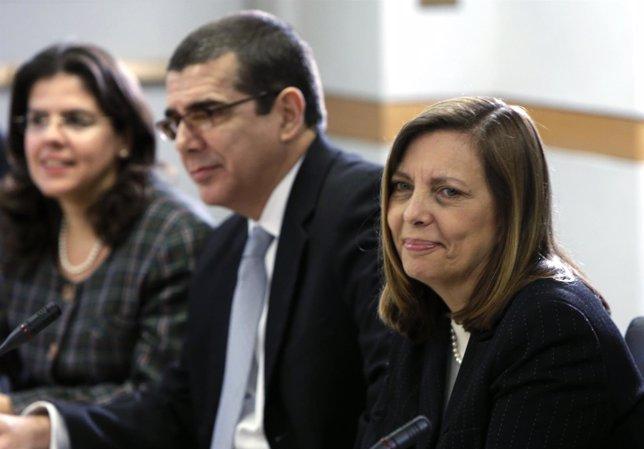 La portavoz cubana en el diálogo con EEUU, Josefina Vidal