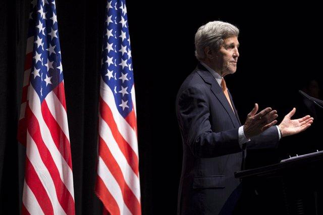John Kerry en Lausana sobre el programa nuclear de Irán