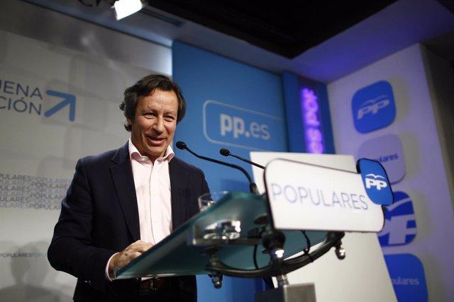 Carlos Floriano presenta el lema de campaña para las elecciones del 24M