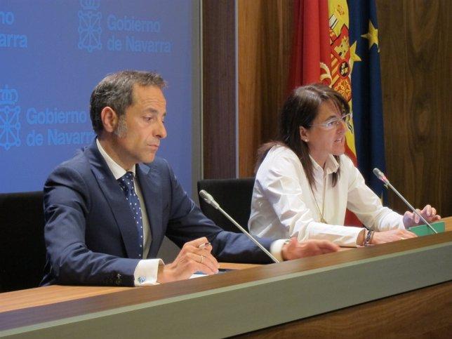 Juan Luis Sánchez de Muniáin y Marta Vera.