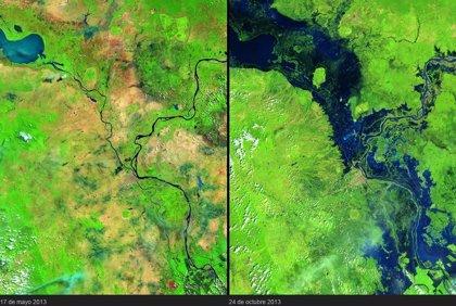 10 fotos de la NASA antes y después de que el mundo cambiara