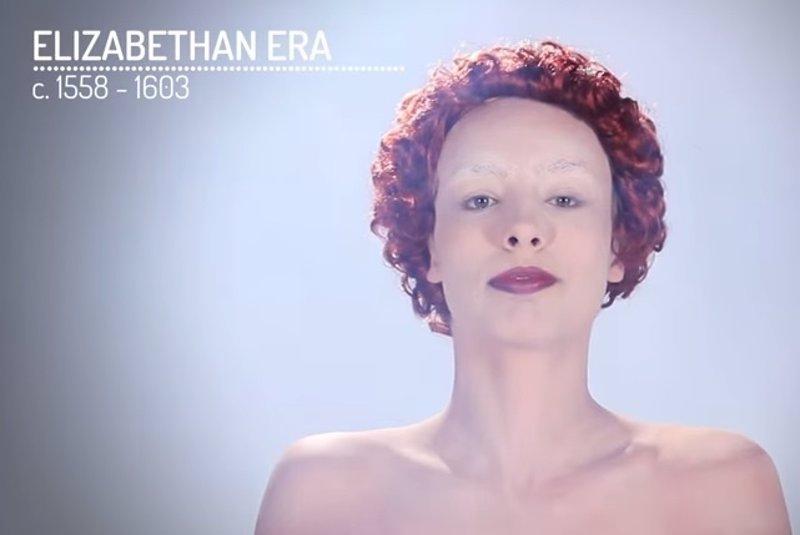 La evolución del maquillaje en la mujer a lo largo de la historia