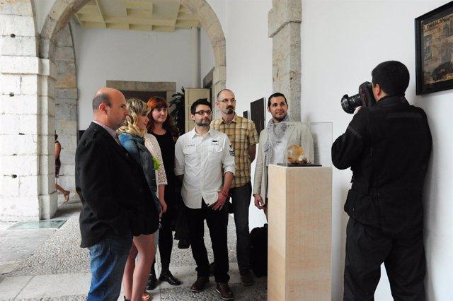 Inauguración de la exposición de ACAV
