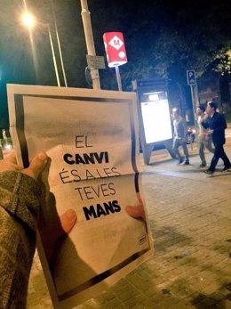 Diario que la ANC ha repartido en el área metropolitana de Barcelona y Tarragona