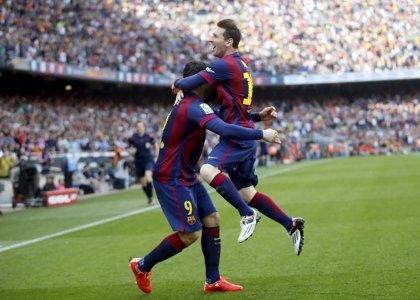 Messi anota su gol 400 con el Barça y sella la victoria ante Valencia