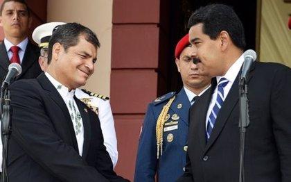 """Correa: """"América Latina no permitirá una intervención de EEUU en Venezuela"""""""