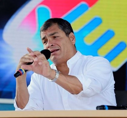 """Correa dice que América Latina """"no permitirá una intervención"""" en Venezuela"""