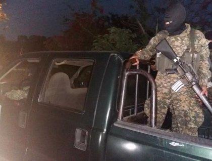 Mueren nueve pandilleros en un operativo del Ejército en El Salvador