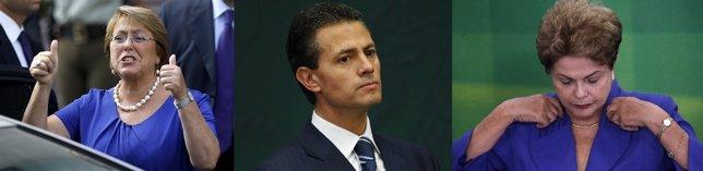 Las economías más fuertes de América Latina presentan futuros incierto