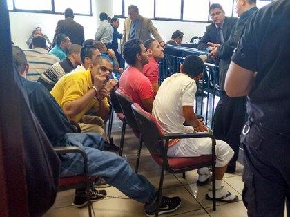 Juicio a 75 mareros 'Salvatruchas' por intento de homicidio a policías