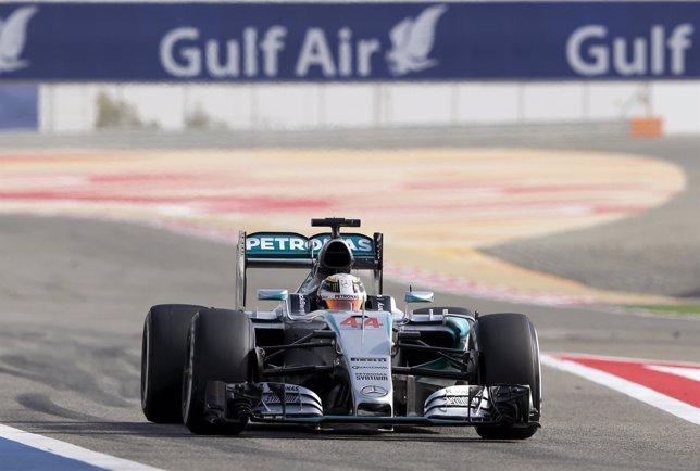 Mercedes Lewis Hamilton Baréin