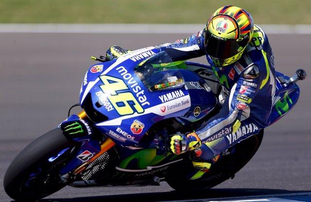 Rossi gana en el GP de Argentina 2015