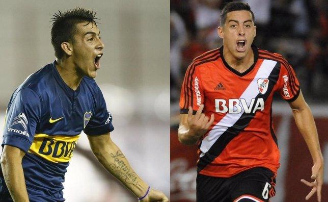 Boca y River, líderes en Argentina