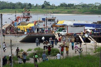 Herido miltar ecuatoriano en ataque de las Farc a ambulancia fluvial