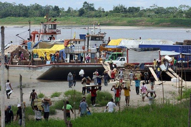 Puerto Así, río Putumayo (Colombia)