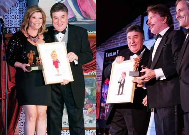 Terelu Campos y Edmundo Arrocet, los grandes galardonados en los Premios Sancho