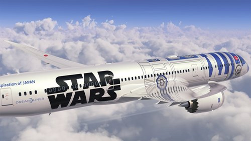 ANA dedica uno de sus aviones a Star Wars