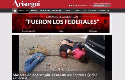 Hackean portal Aristegui noticias antes de revelar abuso de policías mexicanos