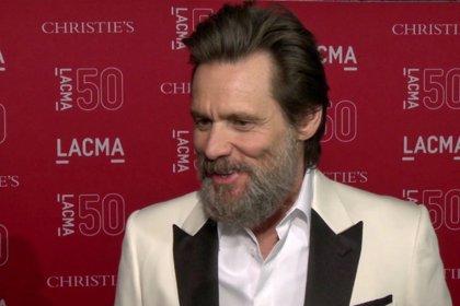 Jim Carrey y Will Ferrer, en la gala del 50 aniversario del LACMA