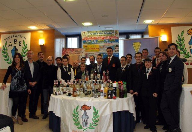 Concurso de coctelería en 2014