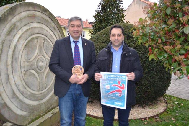 El alcalde y el concejal de Deportes
