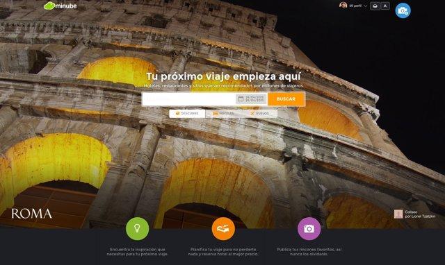 Start-up de viajes Minube