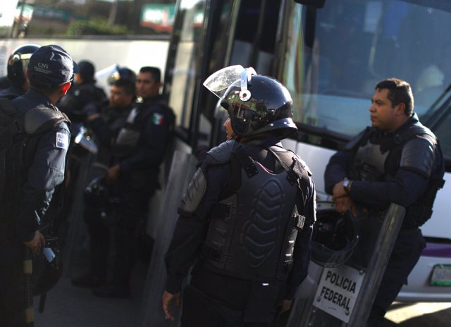 Policía Federal de México.