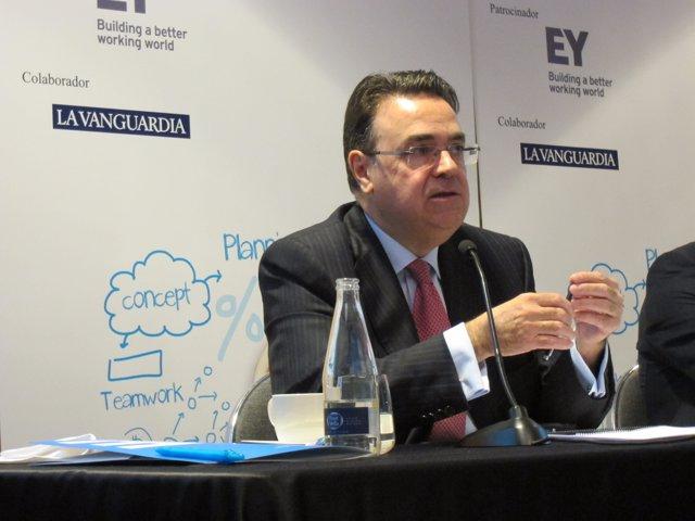 El presidente de Enagás, Antoni Llardén