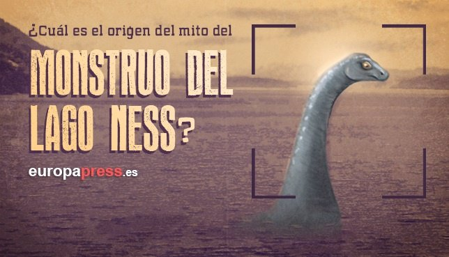 Lago Ness, monstruo, mito