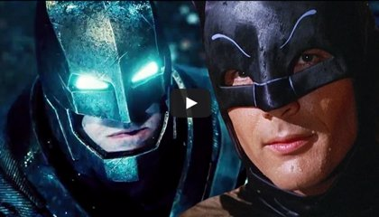 Tráiler retro de Batman v Superman con Adam West y Christopher Reeve