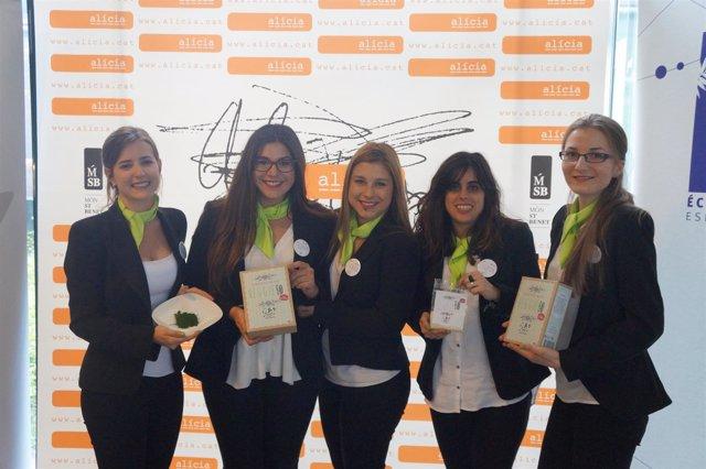 UPV gana el primer premio de 'Ecotrophèlia' poun un snack de microalgas