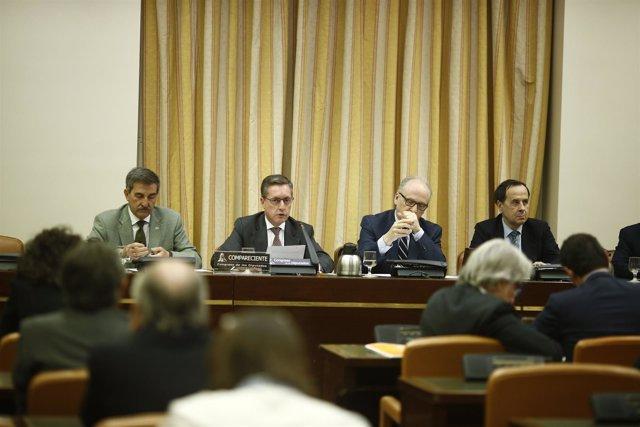 Santiago Menéndez comparece en la Comisión de Hacienda