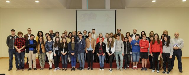 Entrega de premios en la Biblioteca Central de Cantabria