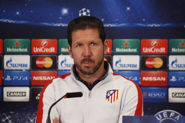 Diego Pablo 'Cholo' Simeone, entrenador del Atlético de Madrid