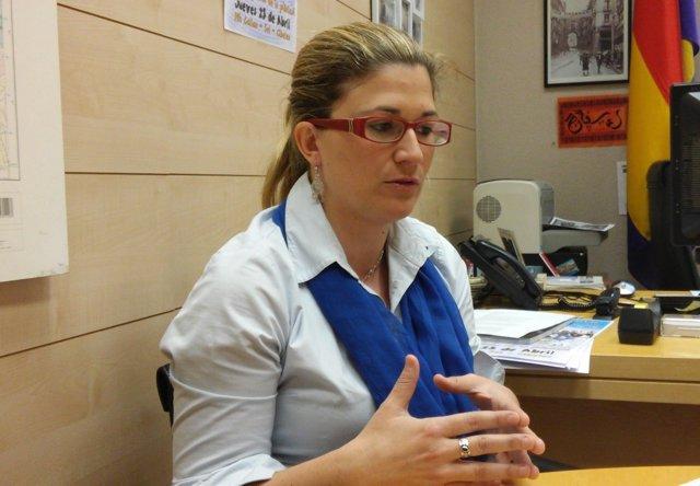 Raquel López, candidata de IU a Madrid