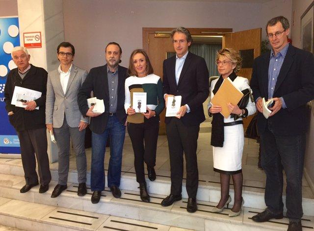 Presentación del libro en el Ateneo