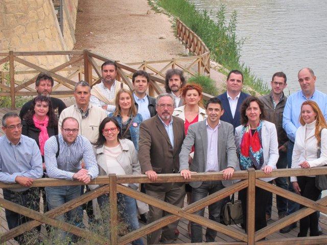 Imagen de los integrantes de la lista de UPyD al Ayuntamiento de Murcia