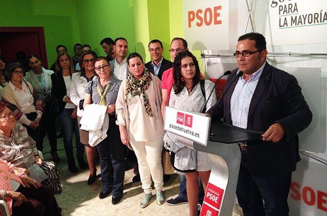 Presentación de la candidatura de Salvador Gómez (PSOE) en La Redondela
